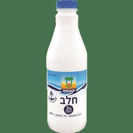 חלב בקרטון 3% יטבתה