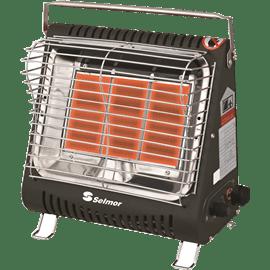תנור חימום גז שחור SE233 SELMOR
