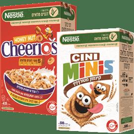 <!--begin:cleartext-->₪ קנה 2 יחידות ממגוון דגני בוקר לילדים נסטלה עד 625 גרם במחיר 30.90<!--end:cleartext-->