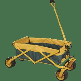 עגלת קמפינג צהובה