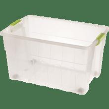 ארגז פלסטיק עם מכסה