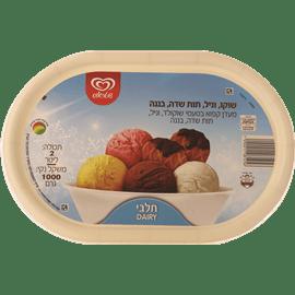 גלידה משפחתית 4טעמים
