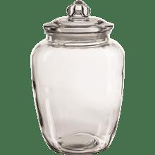מיכלי אחסון תפזורת זכוכית GALA HOME