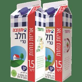 <!--begin:cleartext-->₪ קנה 2 יחידות ממגוון חלב טרי 3% שומן, תנובה 1.5 ליטר במחיר 16<!--end:cleartext-->
