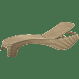 מיטת שיזוף אטלנטיק אפור