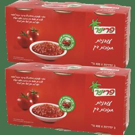 <!--begin:cleartext-->₪ קנה 2 יחידות עגבניות חתוכות דק פרי ניר 3 * 400 גרם במחיר 20<!--end:cleartext-->