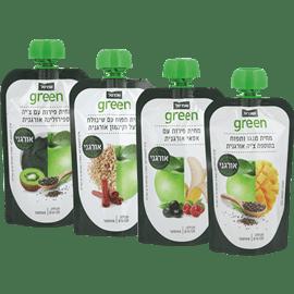 <!--begin:cleartext-->₪ קנה 4 יחידות ממגוון מחית פירות אורגני 120 גרם שופרסל גרין במחיר 16.90<!--end:cleartext-->