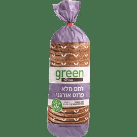 לחם קמח מלא אורגני גרין