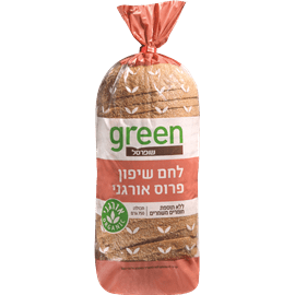 לחם שיפון אורגני גרין
