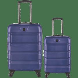 זוג מזוודות קשיחות 20+28 כללי
