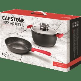 סט סירים ומחבת CAPSTONE