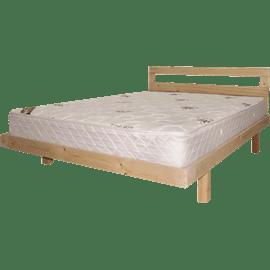 מיטה עץ אורן מלא+מזרן 80/190ס