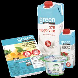 <!--begin:cleartext-->קנה 3 יחידות ממגוון חלב שמנת גבינה ויוגורט ללא לקטוז שופרסל גרין, קבל יחידה נוספת במתנה (הזול מביניהם)<!--end:cleartext-->