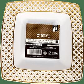 <!--begin:cleartext-->קנה צלחת מרק כיסופים זהב 10יחידות תבניכל ,ב 80% הנחה<!--end:cleartext-->