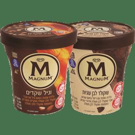 <!--begin:cleartext-->₪ קנה 2 יחידות ממגוון גלידה מגנום בטעמים 440 מ''ל במחיר 34<!--end:cleartext-->