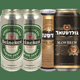 <!--begin:cleartext-->₪ קנה 4 יחידות ממגוון בירה הייניקן פחית 500 מ''ל במחיר 30<!--end:cleartext-->