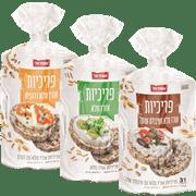 <!--begin:cleartext-->₪ קנה 3 יחידות ממגוון פריכיות אורז שופרסל 100 גרם במחיר 10.90<!--end:cleartext-->