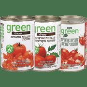 <!--begin:cleartext-->₪ קנה 3 יחידות ממגוון עגבניות חתוכות/שלמות אורגני גרין 400 גרם במחיר 12<!--end:cleartext-->