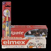 <!--begin:cleartext-->₪ קנה 2 יחידות ממגוון משחות /מברשות קולגייט/אלמקס לילדים במחיר 18<!--end:cleartext-->