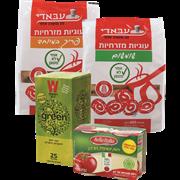 <!--begin:cleartext-->קנה 3 יחידות ממגוון תה ירוק/חליטות/גודייבה/בלה איטליה/עבאדי, קבל יחידה נוספת במתנה (הזול מביניהם)<!--end:cleartext-->