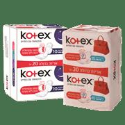 <!--begin:cleartext-->₪ קנה 2 יחידות ממגוון קוטקס מגני תחתון/תחבושות הגייניות במחיר 30<!--end:cleartext-->