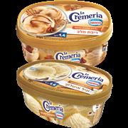 <!--begin:cleartext-->₪ קנה 2 יחידות ממגוון גלידה לקרמריה טעמים שונים 1.4ליטר לה קרמ במחיר 35<!--end:cleartext-->