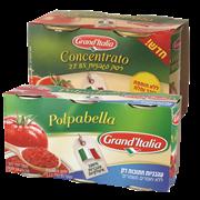 <!--begin:cleartext-->קנה 2 יחידות ממגוון רסק עגבניות/עגבניות חתוכות/מחית גרנד איט קבל את השני ב- 50% הנחה (הזול מביניהם)<!--end:cleartext-->