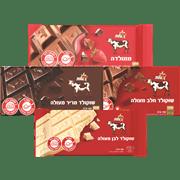 <!--begin:cleartext-->₪ קנה 4 יחידות ממגוון טבלאות שוקולד פרה/אקסטרה 85-100 גרם במחיר 18<!--end:cleartext-->