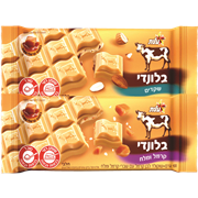 <!--begin:cleartext-->₪ קנה 2 יחידות ממגוון טבלאות שוקולד בלונדי 100 גרם פרה במחיר 10<!--end:cleartext-->