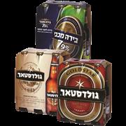 <!--begin:cleartext-->₪ קנה ממגוון בירה גולדסטאר 6 * 330 מ''ל במחיר 29.90 ₪ במקום 39.90<!--end:cleartext-->