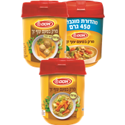 <!--begin:cleartext-->₪ קנה ממגוון מרק טעם עוף 400 גרם אסם במחיר 10 ₪ במקום 14.20<!--end:cleartext-->