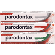 <!--begin:cleartext-->₪ קנה 3 יחידות ממגוון משחת שיניים פרודונטקס 75 מ''ל במחיר 60<!--end:cleartext-->