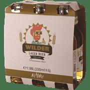 בירה ווילדר לאגר בקבוקים 6 * 330 מ