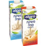 <!--begin:cleartext-->₪ קנה ממגוון משקה סויה טבעי, alpro אלפרו 1 ליטר, סוגי במחיר 11.90 ₪ במקום 13.90<!--end:cleartext-->