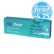 <!--begin:cleartext-->₪ קנה ממגוון BE CLEAR עדשות מגע יומיות Be בית מרקחת 3 במחיר 59.90 ₪ במקום 89.90<!--end:cleartext-->