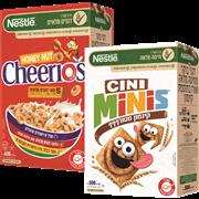 <!--begin:cleartext-->₪ קנה 2 יחידות ממגוון דגני בוקר לילדים נסטלה עד 625 גרם במחיר 32.90<!--end:cleartext-->