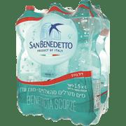 מים מינרליים סאן בנדטו/מוגז 6 * 1.5 ליטר