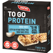 חטיפי חלבון טו גו 200 גרם תלמה