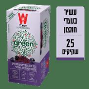 <!--begin:cleartext-->₪ קנה תה ירוק סופר סגול 25 שק * 1.5 גרם במחיר 21.90 ₪ במקום 24.90<!--end:cleartext-->