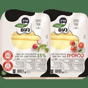 <!--begin:cleartext-->₪ קנה 2 יחידות ממגוון גבינה צהובה 28%/22%/15% נעם 200 גרם במחיר 26.90<!--end:cleartext-->