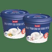 <!--begin:cleartext-->₪ קנה 2 יחידות ממגוון גבינת שמנת 25% 200 גרם שופרסל במחיר 18<!--end:cleartext-->
