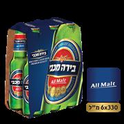 <!--begin:cleartext-->₪ קנה בירה מכבי מארז 6 * 330 מ''ל במחיר 31.90 ₪ במקום 34.90<!--end:cleartext-->