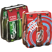 <!--begin:cleartext-->₪ קנה 2 יחידות ממגוון בירה באדוויזר/טובורג רד/קרלסברג 6*330 מל במחיר 60<!--end:cleartext-->