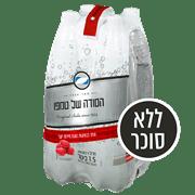 סודה טמפו בטעמים 4 * 1.5 ליטר