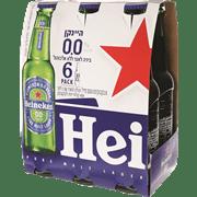 <!--begin:cleartext-->₪ קנה בירה הייניקן 0% אלכוהול 6 * 330 מ''ל במחיר 27.90 ₪ במקום 30.90<!--end:cleartext-->
