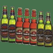 <!--begin:cleartext-->₪ קנה 7 יחידות ממגוון בירה מכבי/גולדסטאר בקבוק חוזר 500 מ''ל במחיר 40<!--end:cleartext-->