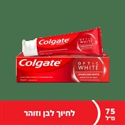 <!--begin:cleartext-->₪ קנה ממגוון משחת שיניים אופטיק וייט קולגייט 75 מ''ל במחיר 17.90 ₪ במקום 19.90<!--end:cleartext-->