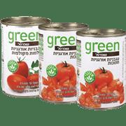 <!--begin:cleartext-->₪ קנה 3 יחידות ממגוון מוצרי עגבניות שופרסל גרין במחיר 10<!--end:cleartext-->