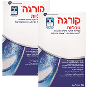 <!--begin:cleartext-->₪ קנה 2 יחידות קורגה טבליות 36 טבליות במחיר 60<!--end:cleartext-->