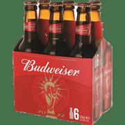 בירה באדוויזר 6יח*330מ